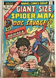 GIANT-SIZE SPIDER-MAN#3 FN/VF 1975 MARVEL BRONZE AGE COMICS