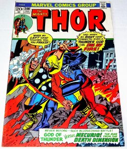 Thor #208 (7.5) MERCURIO! The man from the Death Dimension! Bronze Age (ID#56A)