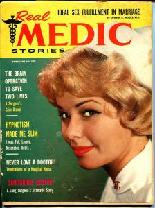 Real Medic #3 2/1959-exploitaion-bizarre pulp type thrills-G