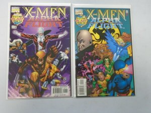X-Men Alpha Flight Blast From The Past Set #1-2 8.0 VF (1998)