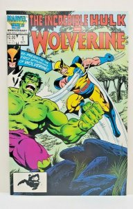 INCREDIBLE HULK AND WOLVERINE #1 WRAPAROUND COVER WHITE PAGES BYRNE