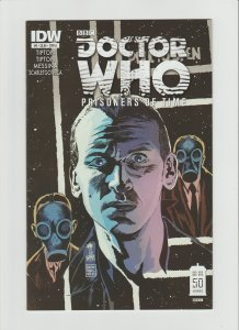 Doctor Who: Prisoners of Time #9 NM 9.0 IDW Comic Francavilla Cover-A