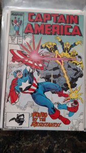 Captain America #343 (Marvel,1988) Condition NM