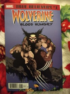 Wolverine Blood Hungry True Believers #1 NM
