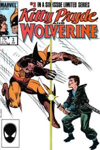 Kitty Pryde and Wolverine #3, NM (Stock photo)