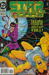 S.T.A.R. Corps #5 VF; DC   save on shipping - details inside