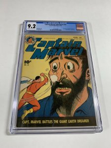 Captain Marvel Adventures 52 Cgc 9.2 Ow/w Pages Golden Age