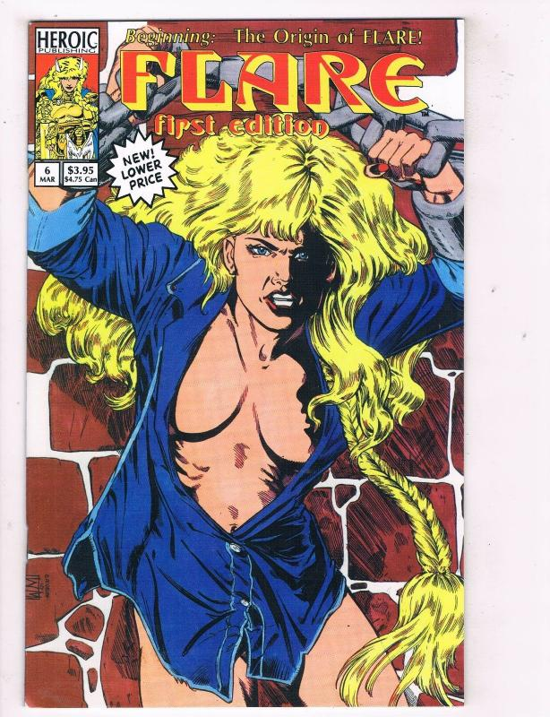Flare #6 VF Hero Graphics Comic Book Mar DE41 AD18