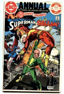 DC COMICS PRESENTS Annual #3-1984-Shazam and Superman DC Comic Book