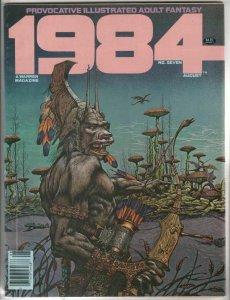 1984 # 7 Strict NM- High-Grade Artist Richard Corben Alex Nino, Frank Thorne