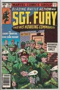 Sgt. Fury and His Howling Commandos #156 (Feb-79) VG Affordable-Grade Sgt. Fu...
