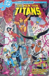 New Teen Titans (1984 series) #13, VF (Stock photo)