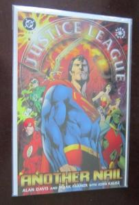 Justice League of America Another Nail # 1 2 3 complete set run lot - VF - 2004