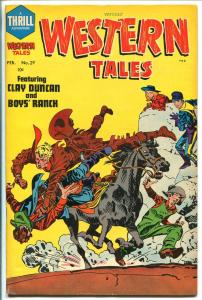WITCHES' WESTERN TALES #29 1955-HARVEY-JACK KIRBY-SOY'S RANCH-CLAY DUNCAN-vf-