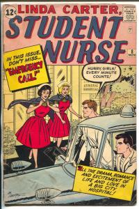 Linda Carter, Student Nurse #8 1962-Marvel-paper dolls-fashions-final issue-P/FR