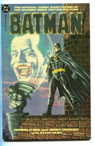 Batman: Official Motion Picture Adaptation 1989 - Joker-KEATON- COMIC BOOK