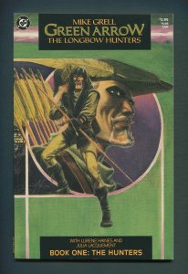 Green Arrow: Long Bow Hunters #1  / 9.0 VFN/NM /  August 1987