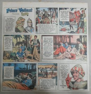 Prince Valiant Sunday by Hal Foster from 8/1/1971 2/3 Full Page Size !