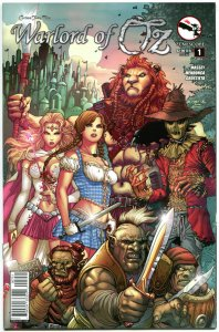 GRIMM FAIRY TALES Warlord of OZ #1 E, NM, Dorothy, 2014, more GFT in our store