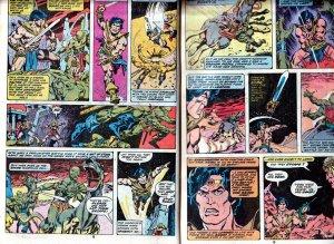 John Carter Warlord of Mars(Marvel) # 12, Annual # 1,2