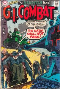 G.I. Combat #135 (May-69) GD/VG Affordable-Grade The Haunted Tank