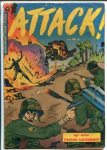 Attack #4 1952-Trojan-Roy G Krenkel-H Harrison-Merrill's Marauders-G/VG