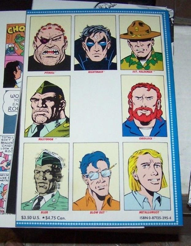 The Draft # 1] ([July] 1988, Marvel) new universe graphic novel nightmask dp7