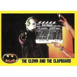 1989 Batman The Movie Series 2 Topps THE CLOWN AND THE CLAPBOARD #234