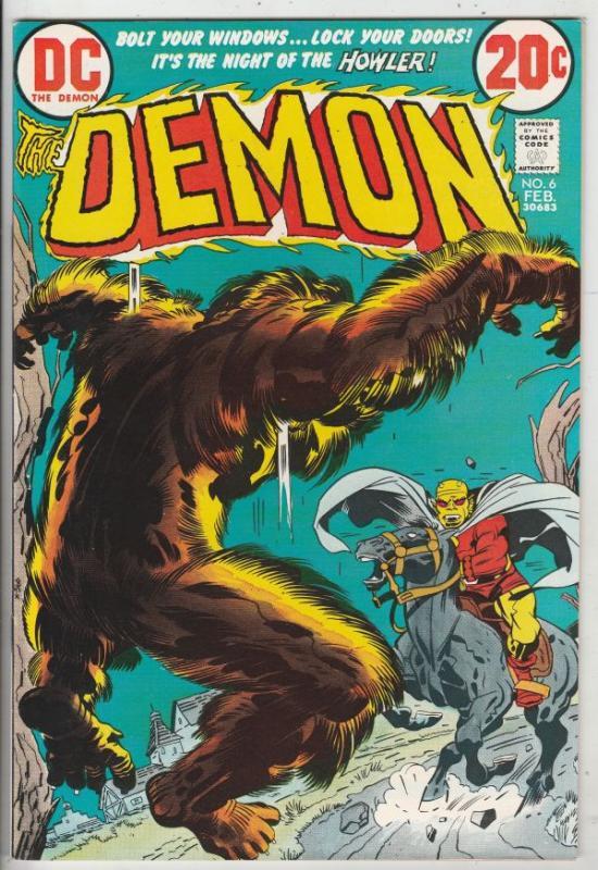 Demon, The #6 (Feb-73) NM- High-Grade Jason Blood, Merlin