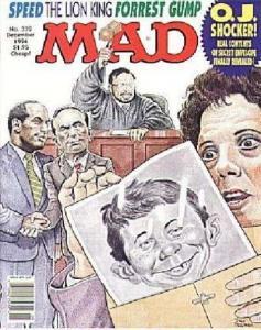 Mad (1952 series) #332, NM + (Stock photo)