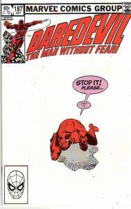 Daredevil #187 (Oct-82) NM Super-High-Grade Daredevil