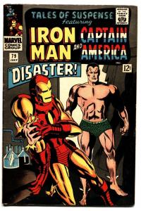 TALES OF SUSPENSE #79 comic book IRON MAN-FIRST COSMIC CUBE/RED SKULL-VF-