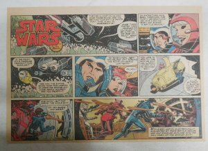 Star Wars Sunday Page #14 by Russ Manning from 6/10/1979 Large Half Page Size!