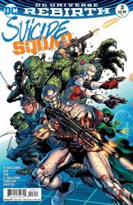 SUICIDE SQUAD #3, NM, Jim Lee, Rebirth, 2016, more Harley Quinn in store