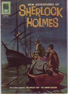 Four Color #1245 (Jan-63) VG Affordable-Grade Sherlock Holmes, Doctor Watson