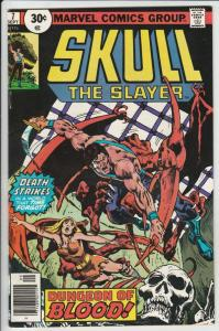Skull the Slayer #7 (Sep-76) NM/NM- High-Grade Skull the Slayer