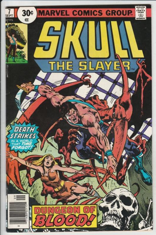 Skull the Slayer #7 (Sep-76) NM/NM- High-Grade Skull the Slayer