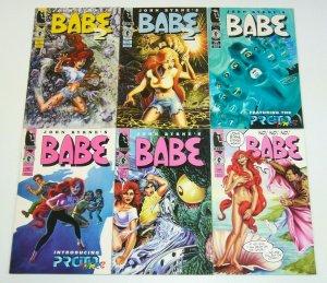 John Byrne's Babe #1-4 & v2 #1-2 VF/NM complete series HELLBOY dark horse set