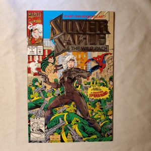 Silver Sable and the Wild Pack 1 Very Fine+ Cover by Steven Butler