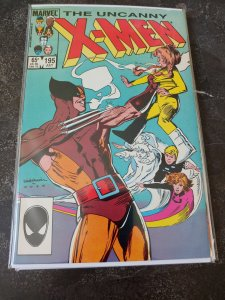 ​THE UNCANNY X-MEN #195 VF/NM