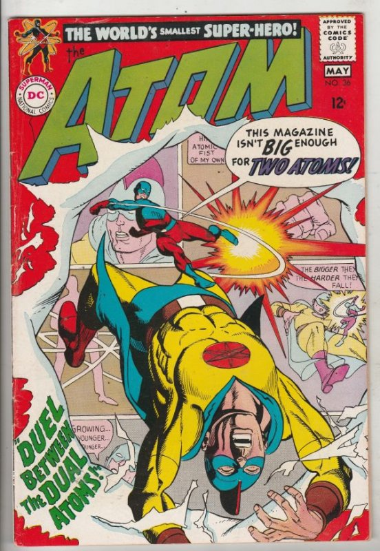 Atom, The #36 (May-68) NM- High-Grade The Atom