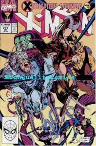 X-MEN 271, VF/NM, Wolverine,Chris Claremont,1990, Jim Lee, more in store
