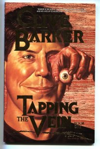 Tapping the Vein # 1989 Eclipse Clive Barker comic book NM-