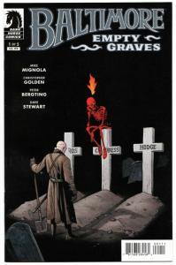 Baltimore Empty Graves #1 (Dark Horse, 2016) VF/NM