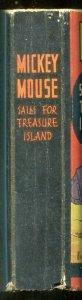 Mickey Mouse Sails For Treasure Island PREMIUM Big Little Book BLB 1935 FN
