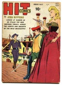 Hit Comics #62- Jeb Rivers- Betty Bates 1950 VG