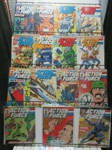Action Force  (Marvel UK 1987) #2-42 Lot of 15Diff GI Joe Cobra! TRANSFORMERS