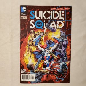 Suicide Squad 8 Very Fine- Cover by Ken Lashley