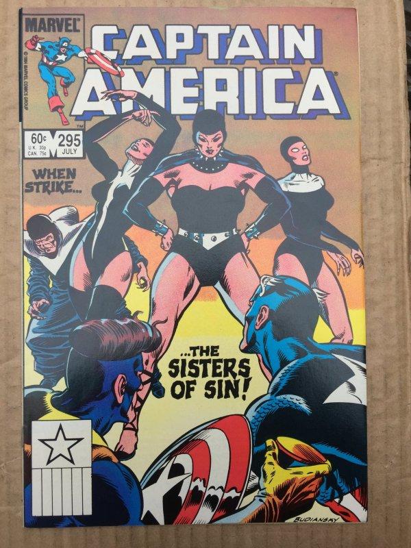 Captain America #295 (1984)