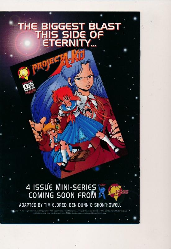 ROBOTECH II : Invid War: Aftermath #4 Entity Comics 1994 ~ VF+ (PF286)